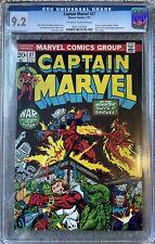 Captain Marvel 27 1973 CGC 9.2 NM- 1st Full Appearance & Cover Eros / Starfox