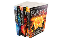 Rick Riordon The Kane Chronicles 3 Book Set The Throne of Fire, The Red Pyramid,