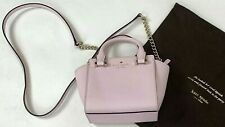 Kate Spade New York  Purse Small Pink Crossbody Cow Hide Leather Chain Mini Bag