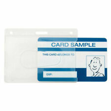 Kevron Clear Card Holder Licence ID Pass Access 89x67mm ID1013*