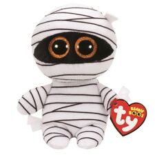 Ty Beanie Babies Boos 37234 Momia el blanco Momia Halloween Boo