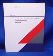 Tektronix TDS 420A, 430A, 460A, 510A Reference Manual