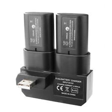 DOBLE RECARGABLE BATERÍA Y CARGA BASE PARA XBOX ONE - (incluye 2batteries)