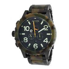 NIXON A083-1428 A0831428 Watch 51-30 CHRONO MATTE BLACK CAMO