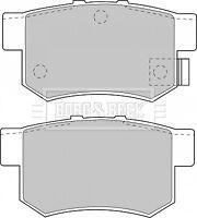 Borg & Beck Disc Brake Pad Set Pads BBP1535 - GENUINE - 5 YEAR WARRANTY