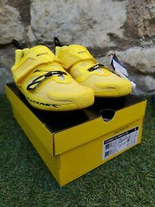 BRAND NEW IN BOX ~ Mavic Cosmic Ultimate Tri Triathlon Shoes  UK 7.5 ~ COST £310