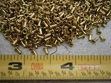 """USM Molly SE-24 Eyelet .059"""" Barrel OD x .125"""" Brass Lot of 100 #5998"""