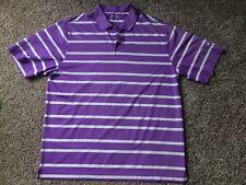 NIKE GOLF DRI-FIT Purple Polo Shirt Men's Size XL - Fast Ship!