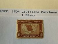 Outstanding  1904  # 327 MH   CV 150