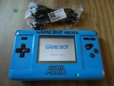 Custom Super Mario Game Boy Macro XL Console - GBA Backlit Gameboy Advance