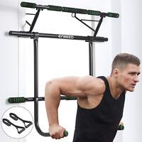6 in 1 Pull Up Bar Door Sit-ups Chin-ups Push-ups Training Home GYM Machine Set