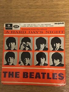 The Beatles  A Hard Days Night EP No 2 in Picture Sleeve