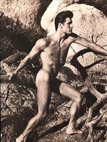 1983 Bruce Weber Nude Male Model JEFF AQUILON Nature Scene Art Photo Gravure