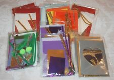 Card Making Kits x 14 packs, Envelopes, Papers, Sequins, Pompoms, Decorations