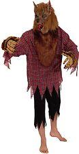 Kostüm Werwolf 2-tlg. Wolf Maske Herrenkostüm 50 52 54 Halloween Horror