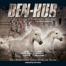 Est/Ben-Hur 180 grammi, conducted by Carlo Savina/Music BY M. Rozsa VINILE LP NUOVO