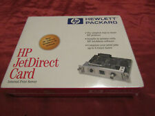Authentic ,Hewlett Packard J2552B Jetdirect Card 10/100 Base New Factory Sealed