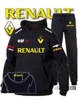 Tuta Felpa Hoodie Printed Renault Racing ELF Auto Moto Team Italia pantaloni NN
