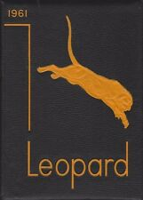 Lindsay High School Oklahoma OK 1961 Leopard Yearbook Annual HS