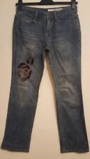 DKNY  Womens Ladies Jeans With Floral Design UK 12  W30