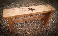 Wooden bench, bespoke, reclaimed wood, rustic