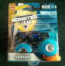 Hot Wheels Monster Jam FLX18 - Clear Crushers 3/4 Cleatus FS1 Fox Sports