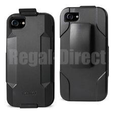 """Reiko iPhone 7 4.7"""" Heavy Duty Drop Proof Holster Combo Case w/ Swivle Belt Clip"""