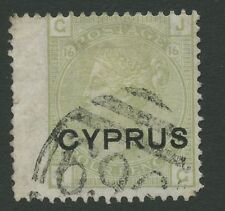 Cyprus SG4 (Plate 16) 1880 4d sage-green Used