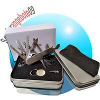 EDELSTAHL Taschenmesser in Geschenkbox KLAPPMESSER Multifunktionsmesser Messer