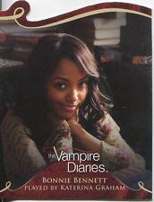 Vampire Diaries Season 1 Die Cut Chase Card D04 Bonnie Bennett