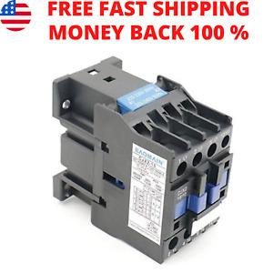 Baomain AC Contactor CJX2-1810 220V 50/60Hz 660V 18 Amp 3 Phase 3-Pole NO DIN