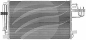 Condenser AIR CONDITIONING KIA SPORTAGE KM 2.0L PET 4/05-7/10, HYUNDAI TUCSON JM