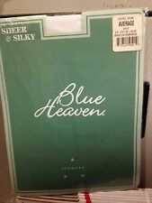 Vintage Blue Heaven pantyhose color white size average