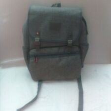 HFSX Laptop Backpack Men Women Business Travel Computer Bagpack Color Gray New!