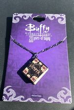 Buffy the Vampire Slayer 20th Anniversary Necklace - Vampyr Book