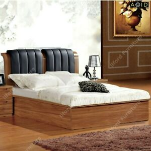 Ottoman Storage Walnut bed 100% Solid MDF with Free Delivery Single/Double/King