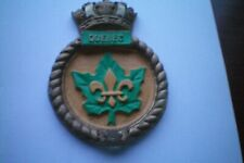 CANADIAN NAVY HER ROYAL MAJESTY QUEBEC PLAQUE