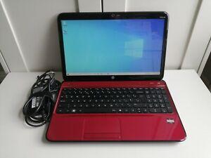"HP Pavilion G6 Laptop Red 8GB Ram 1TB HDD 15"" Screen Windows 10 AMD E2"