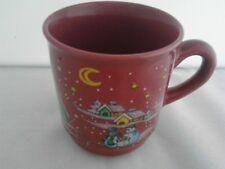 Glühweintasse Becher Punsch Heiße Schokolade Tasse -  0,2 weinrot/sammel