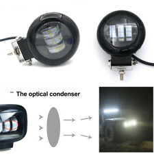 72W 6000K White LED Car Spot Light Work Lamp Waterproof 10800LM Spot &flood beam