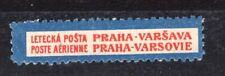 ein alter Luftpostaufkleber, PAR AVION Etiquette,  Air Mail label   mint