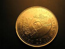 Canada 1992 New Brunswick Province Commemorative 25 Cent Mint Coin.