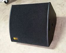 """Powered 15""""x2"""" Wedges Active coax 600W RMS / Floor Monitor"""