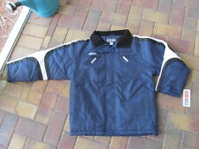 CCM Jacket Navy Blue with White Youth size L NWT