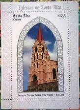 Costa rica stamps. Parroquia Nuestra Senora de la Merced. 2008. MNH