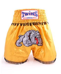 TWINS SPECIAL BULLDOG MuayThai Kickboxing Shorts