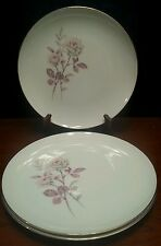 3pc Symco Arliss Plates (3) Dinner Nearly Mint Condition