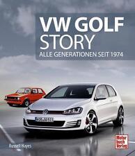 VW Golf Story (I II III IV V VI VII GTI Cabrio Scirocco Corrado) Buch book