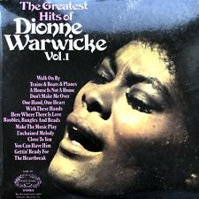 DIONNE WARWICK GREATEST HITS VOL 1 1972 HALLMARK LP VINYL RECORD ALBUM TESTED