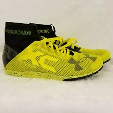 Under Armour Charged Bandit XC Cross Country Running Shoes Size 7 w / Spikes